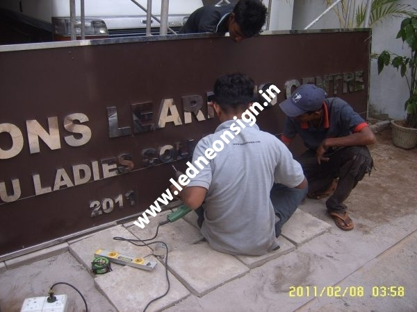 STEEL & METAL SIGN BOARDS PRODUCT58