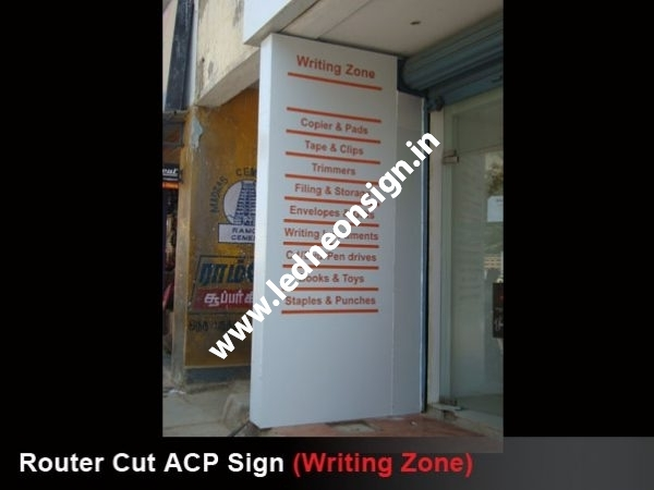 ACP SIDE SIGN BOARDS